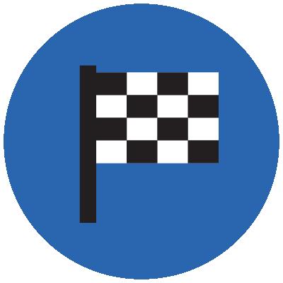 icon checkered flag