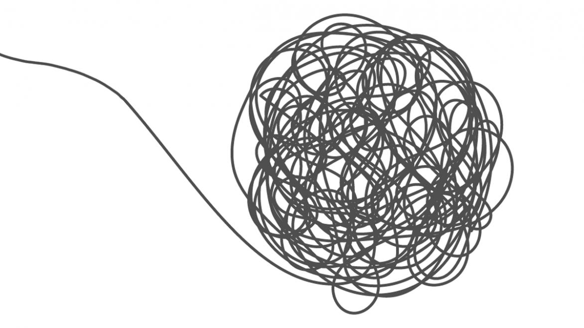 tangled string