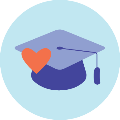 icon graduation cap