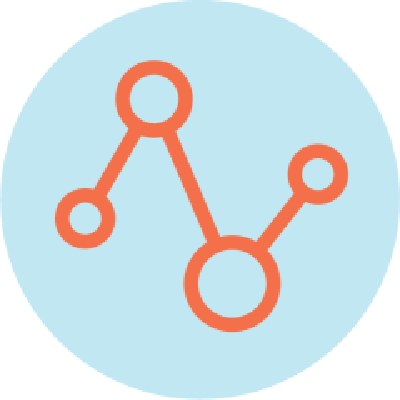 icon connected dots