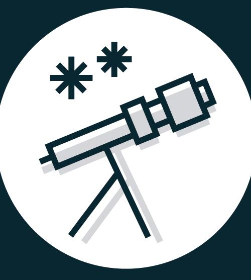 icon telescope