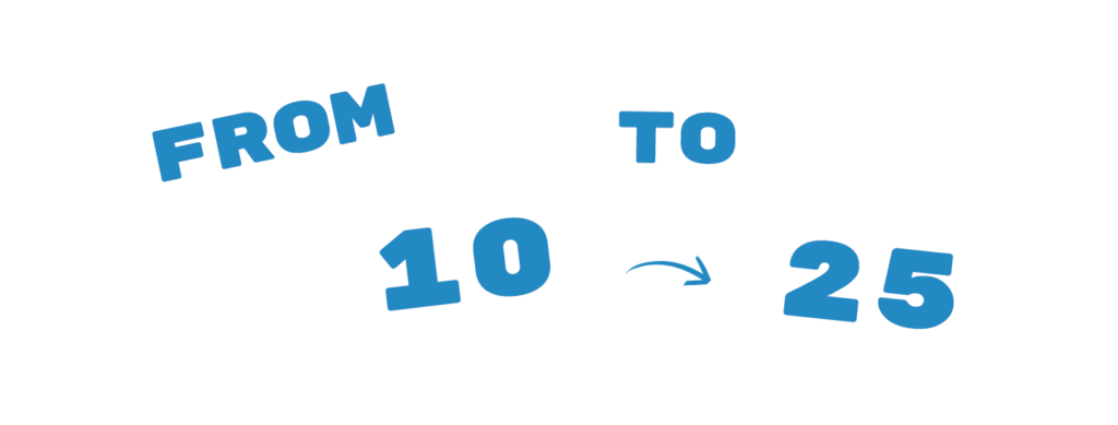 From10to25 Logo